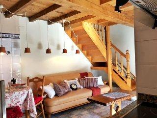 El Rincon del Sol de Asturias. Casa en la montana de Cangas de ONis.