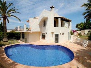 Sant Jordi - sea view villa with private pool in Moraira