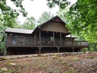 Mountain View Lodge, 2 BR, 2 BA, WIFI, Hot tub and privacy!!