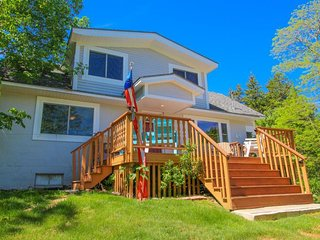 Family home w/ deck, firepit, picnic area & foosball - close to Acadia & more!