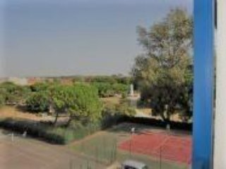 Tennis courts open year.