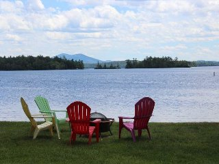 Waterfront with Shared Sandy Beach in Moultonborough (BUR36Wf)