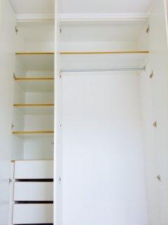 Large closet.