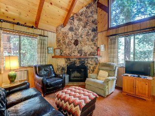Spacious & woodsy mountainview cabin w/ deck and fireplace - a hiker's dream!