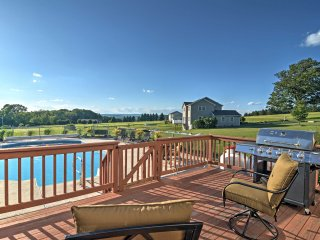 Lovely Saylorsburg Home w/ Pool & Amazing Views!