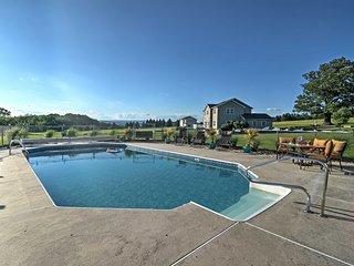 Lovely Saylorsburg Home w/ Pool & Amazing Views!