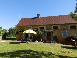 Langlade, a beautifully restored country farmhouse.  Sleeps 6 - 8.