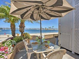 NEW! Beachfront 3BR San Diego Condo w/ Patio!