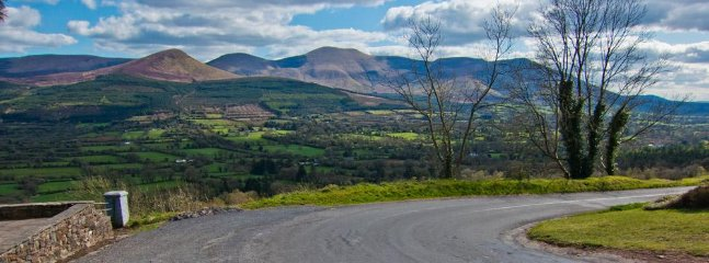 The Galtee Mountains with a view from the Glen of Aherlow  25km from carrigmorefarm