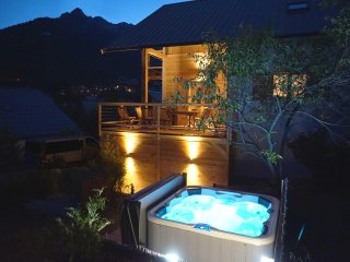 Catered Chalet Serre Chevalier 1200. Briancon town centre and close to ski lifts