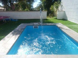 Chalet****Wagner, wifi, pool, beach, jacuzzi, golf, family