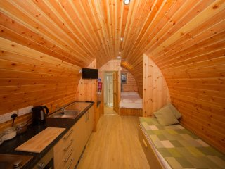 Glamping Pod (sleeps up to four people)