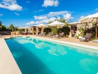 Vaste et paisible villa a San Antoni de Portmany