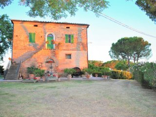 "Apartment ""La Terrazzina"" on the border between Umbria and Tuscany"