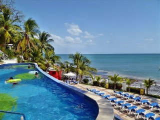 Delightful Beach Front Master Suite with Spacious Balcony  and stunning Sea View