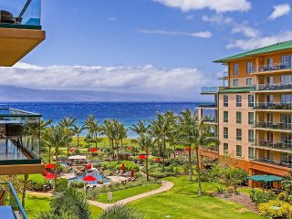 Maui Resort Rentals: Honua Kai Konea 515 - Upgraded 5th Floor Oceanview Studio