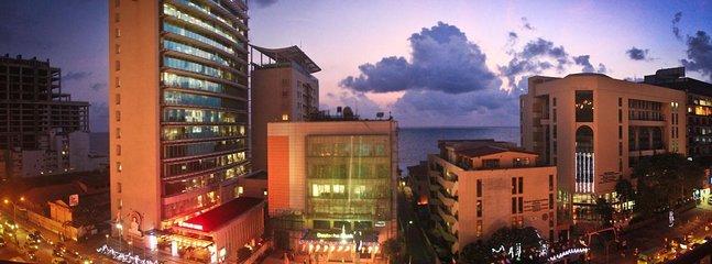 Vista desde balcón de la fachada