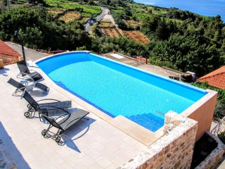 Country side house with swimming pool  near Orebic