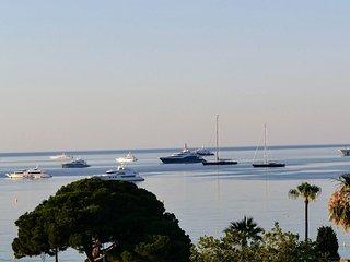 Vue mer panoramique, calme, standing, plage 100m