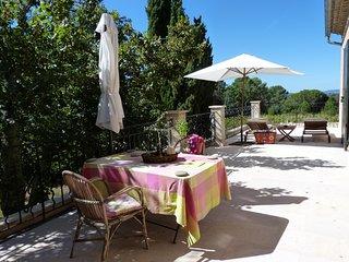 Appartement  dans  authentique mas provencal  avec parc et piscine a Lourmarin