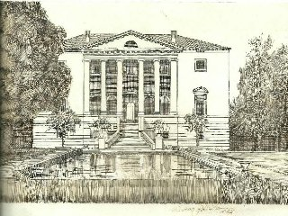 BeB Villa Negri is inside of a Palladian Villa of 700' located near Venice.