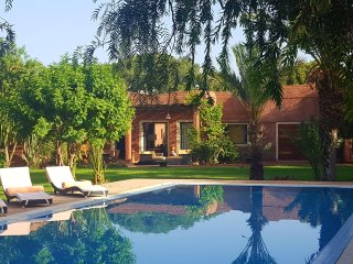 Villa de luxe avec piscine privee route de lalla takerkous
