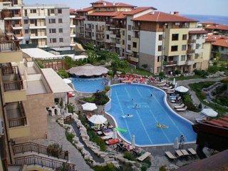 Lillia Garden of Eden Bulgaria Studio Air-Con Apartment 5 star complex