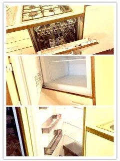 Dishwasher, fridge & freezer