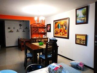 Acogedor apartamento campestre 3 habitaciones