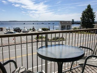 Lincolnville Studio w/ Private Ocean View Balcony - Near Camden and Rockland