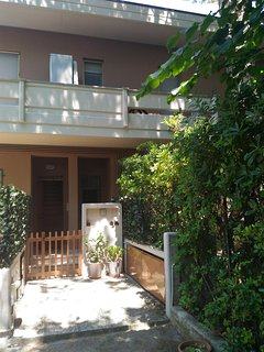 Uno dei tre balconi che da sulla cameretta e il bagno principale