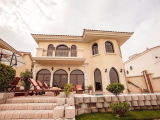 4BR BEACH Villa | Private Pool | Palm Jumeirah