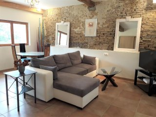 St Victor du Fau - 1 bdr apt with patio, yoga classes and organic food