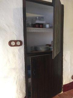 Alacena madera maciza cocina