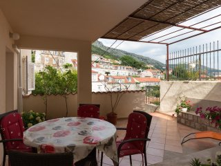 Apartment Family House Nozica - Three Bedroom Apartment with Garden View Terrace