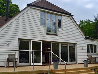 Well House is a beautiful family home with open plan living and stylish decor