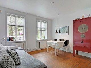 Nice Copenhagen apartment near Svanemoellen st