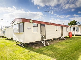 7 berth caravan at California Cliffs Holiday Park, in Scratby. REF 50045H