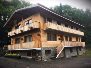 Luxury flat in center of Morzine! Perfect for 8