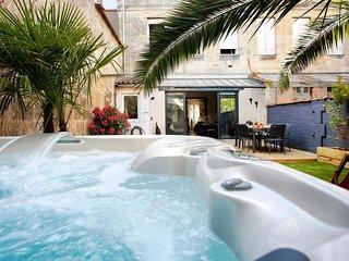Ravissante maison bordelaise 12 personnes - chaleureuse et spacieuse - jardin