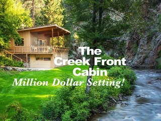 The Creek Front Cabin - Million Dollar Setting!