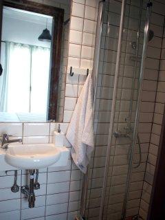 Shower cabin in the en-suite bathroom