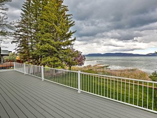 Waterfront 5BR Garden City Home on Bear Lake!