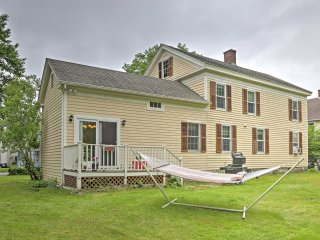 NEW! Charming 3BR Great Barrington House by River!