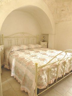 La Quercia: camera da letto.