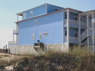 Gulf Front 9 Bedroom Beach House w/Private Pool and Private Boardwalk