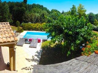 Belle villa provencale au coeur du Luberon 12 pers/piscine/sauna