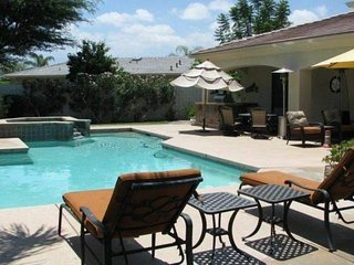 Diamond of the Desert! Stunning Home with Private Pool, Spa, & Casita. Lighted