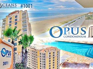July/Augu $pecials - The Opus Condominium - Ocean / River View - 3BR/2BA - #1001