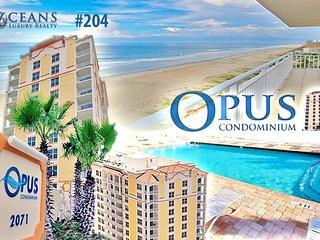 July/August $pecials - The Opus Condominium - Direct Oceanfront - 3BR/3BA - #204